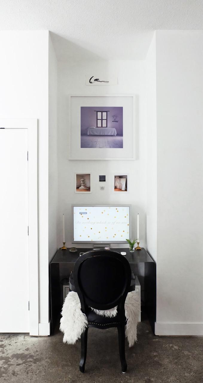 Desk Nook Photo: Melissa Mercier