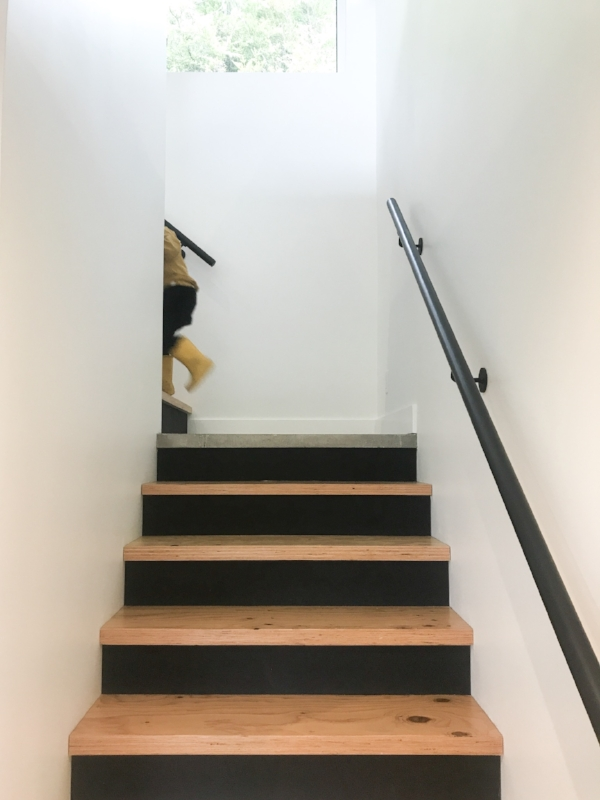 Stairs = playgym for these kids