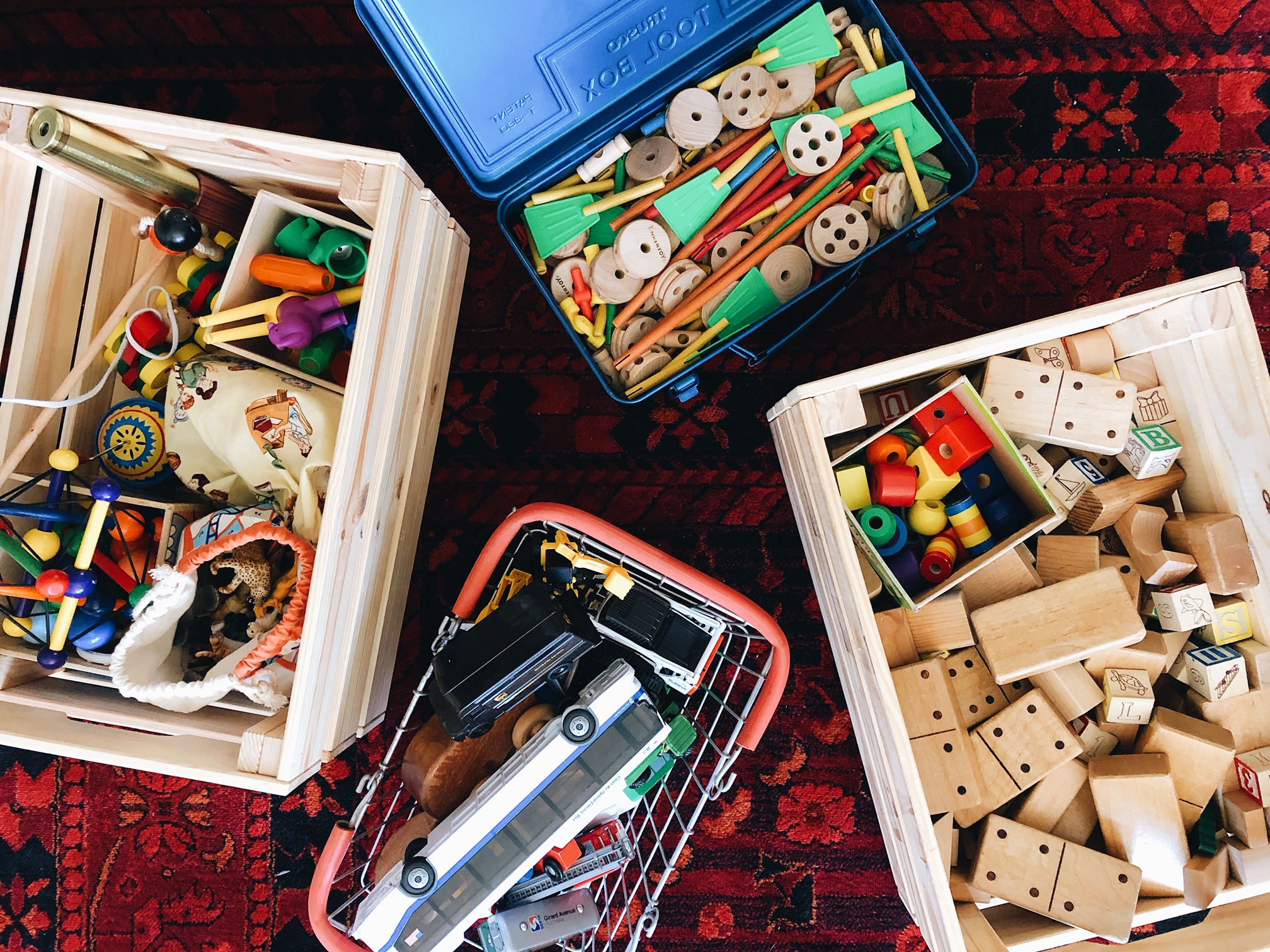 Toy Storage and Organization in a Small Space.  @mandalynrael