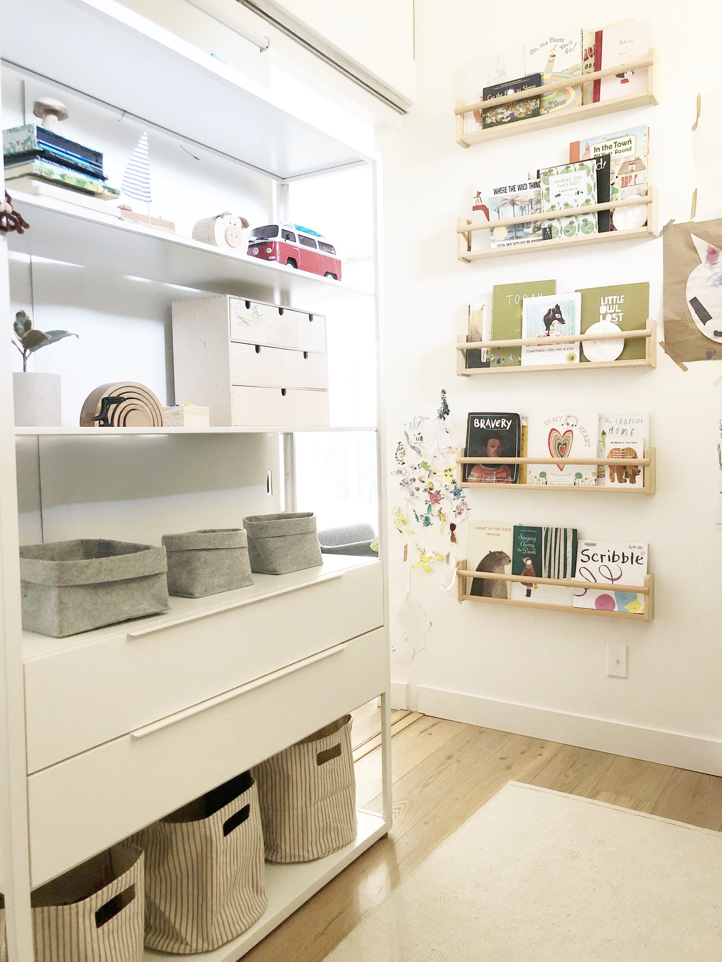 Toy Storage and Organization in a Small space