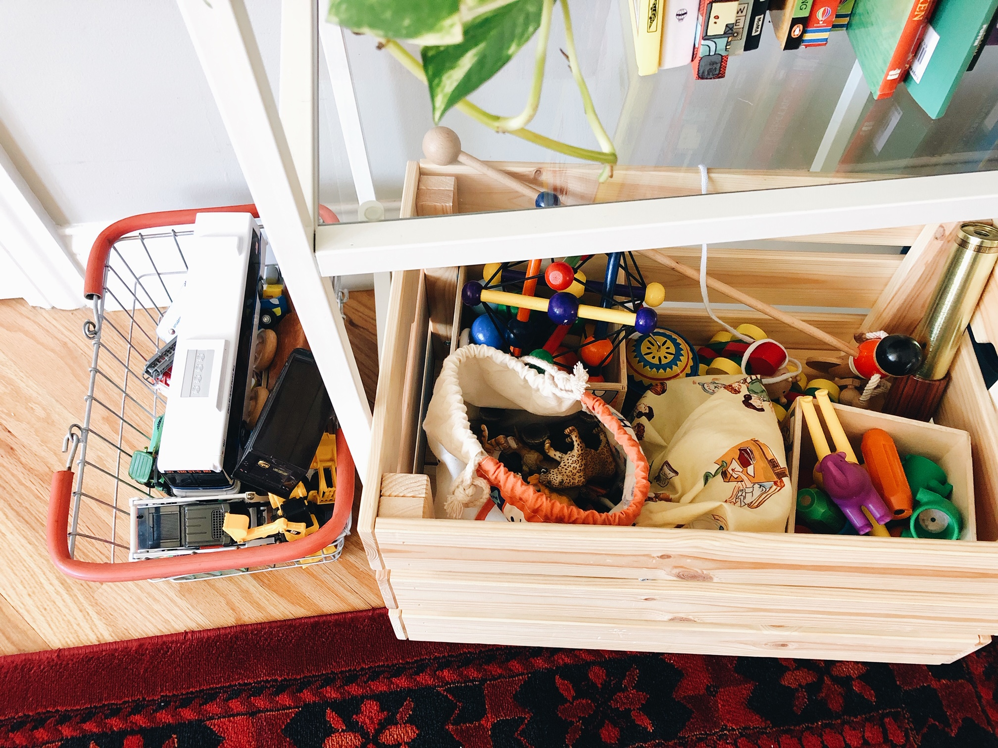 Toy Storage and Organization in a Small Space. Mandalyn Renicker  @mandalynrael