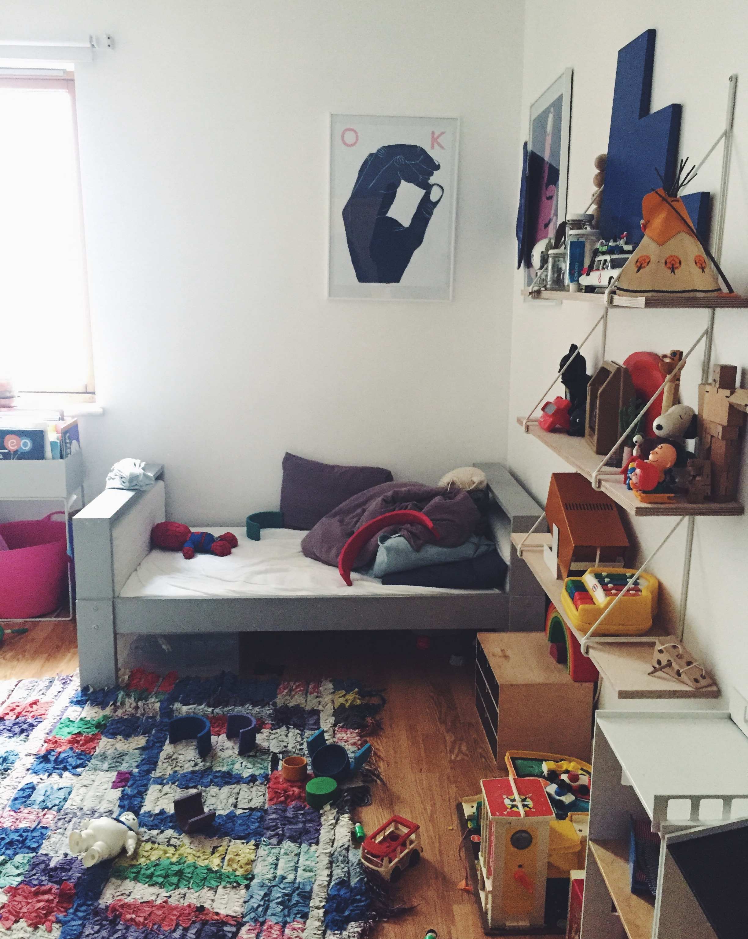 Her son's bedroom Jessica Traylen of @small.solutions__