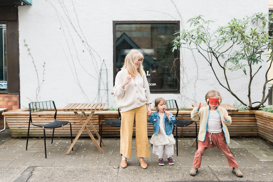 Mother Mag: Vancouver Mama Alison Mazurek on Raising Two Kids in 600 square feet  - Mother Mag