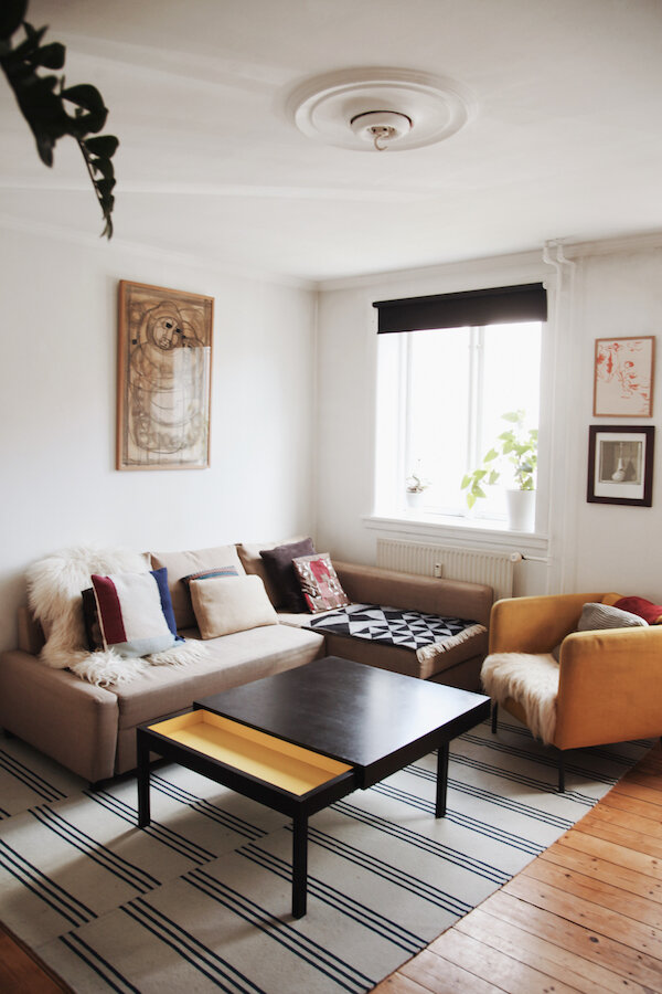 Small Home Tours Rebecca In 580 Square Feet With A Toddler In Copenhagen 600sqftandababy