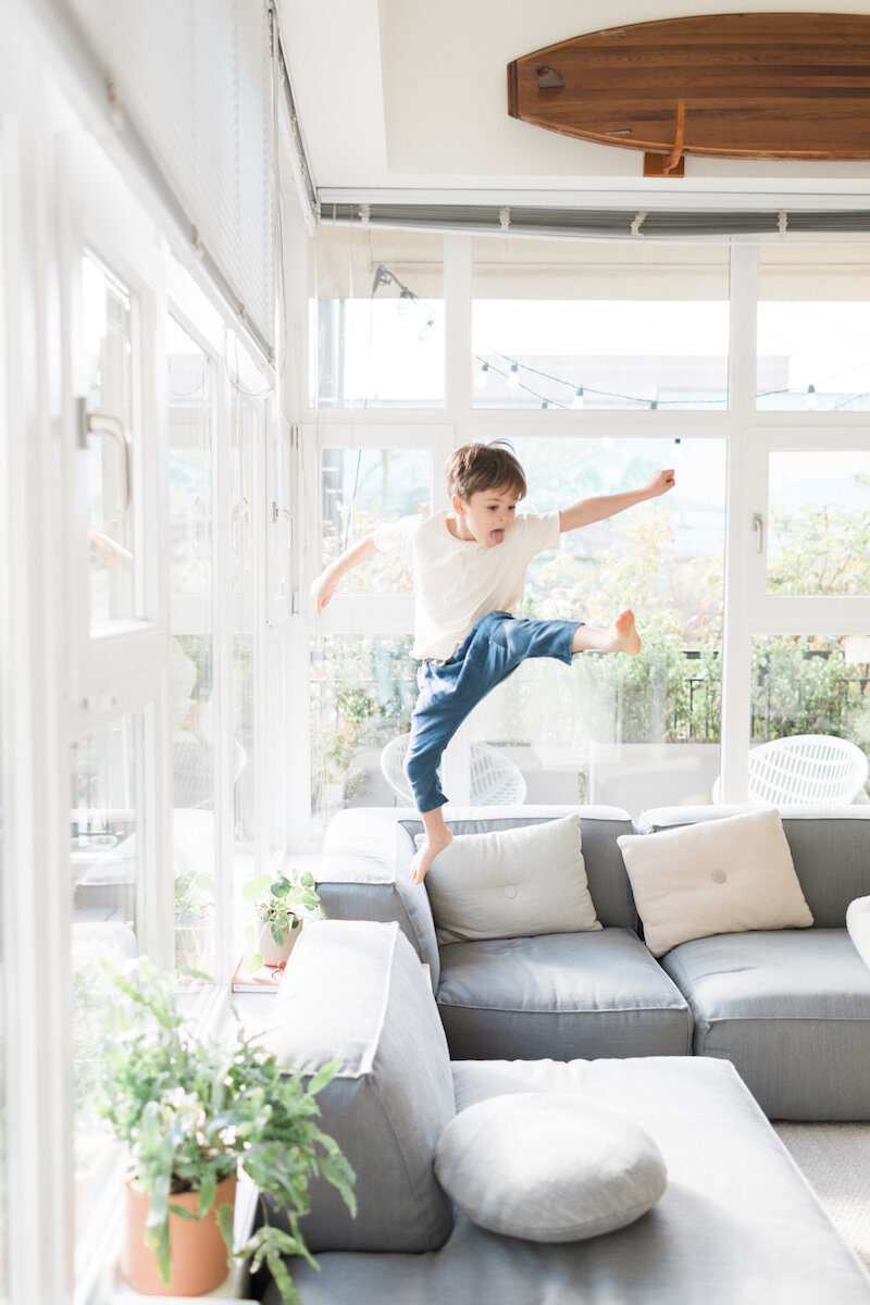 what staying at home looks like by  Modern Nest Photography