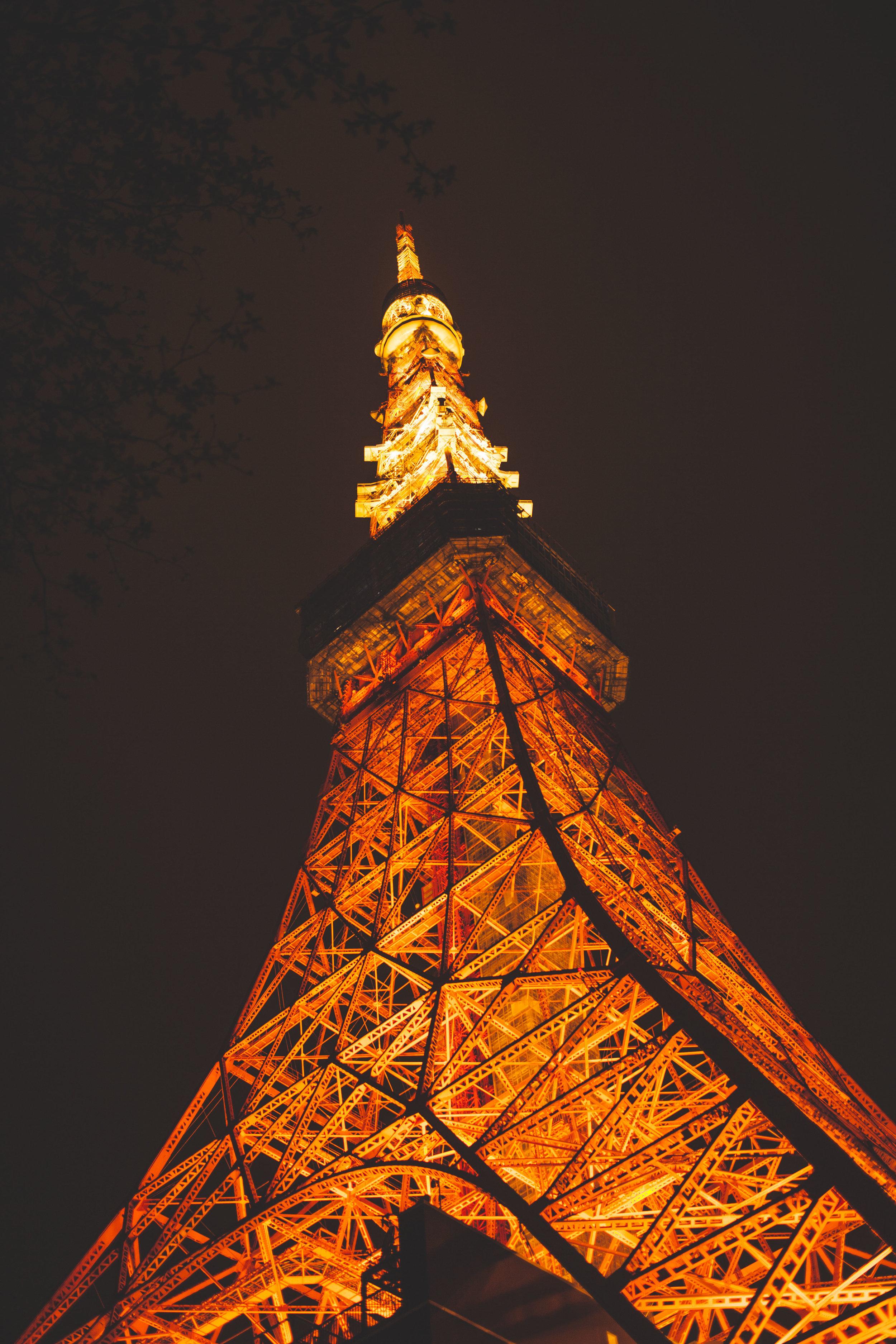 Canon 5D Mark II, 35mm f/ 1.4L, Tokyo Tower