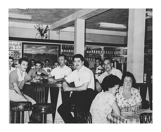 I didn't take this photo. This photo is of my grandfather in Cuba at a bar he used to own. He's the man in white in the middle with the mustache and pen in his pocket. He was a hero to many. An inspiration. A hustler. A motivator. He taught me so many things like how to drive, how to act, how to respect others, how hard work pays off and most importantly how to love. My grandfather and I had a very special bond. I always had to sit next to him when we ate. I always had to sit on his lap while he played dominoes (and he taught me that too). I always had to have his approval and would be crushed if he was ever disappointed or mad at me. I always knew the day he would leave this earth it would be one of the hardest things I would ever have to go through... and it was. Today marks a month that he's gone and it's still something I have trouble believing. I miss everything about him, especially his laugh and how happy he always was to see me. I'm fortunate to have had him in my life for so long. All of his life's values will not be in vain. I work hard and try to live by all of his teachings. Te quiero siempre papi y te extrañaré ahora y por el resto de mi vida. 💕 now you know why I've been so absent. It's ok to take time off when you need it. Peace