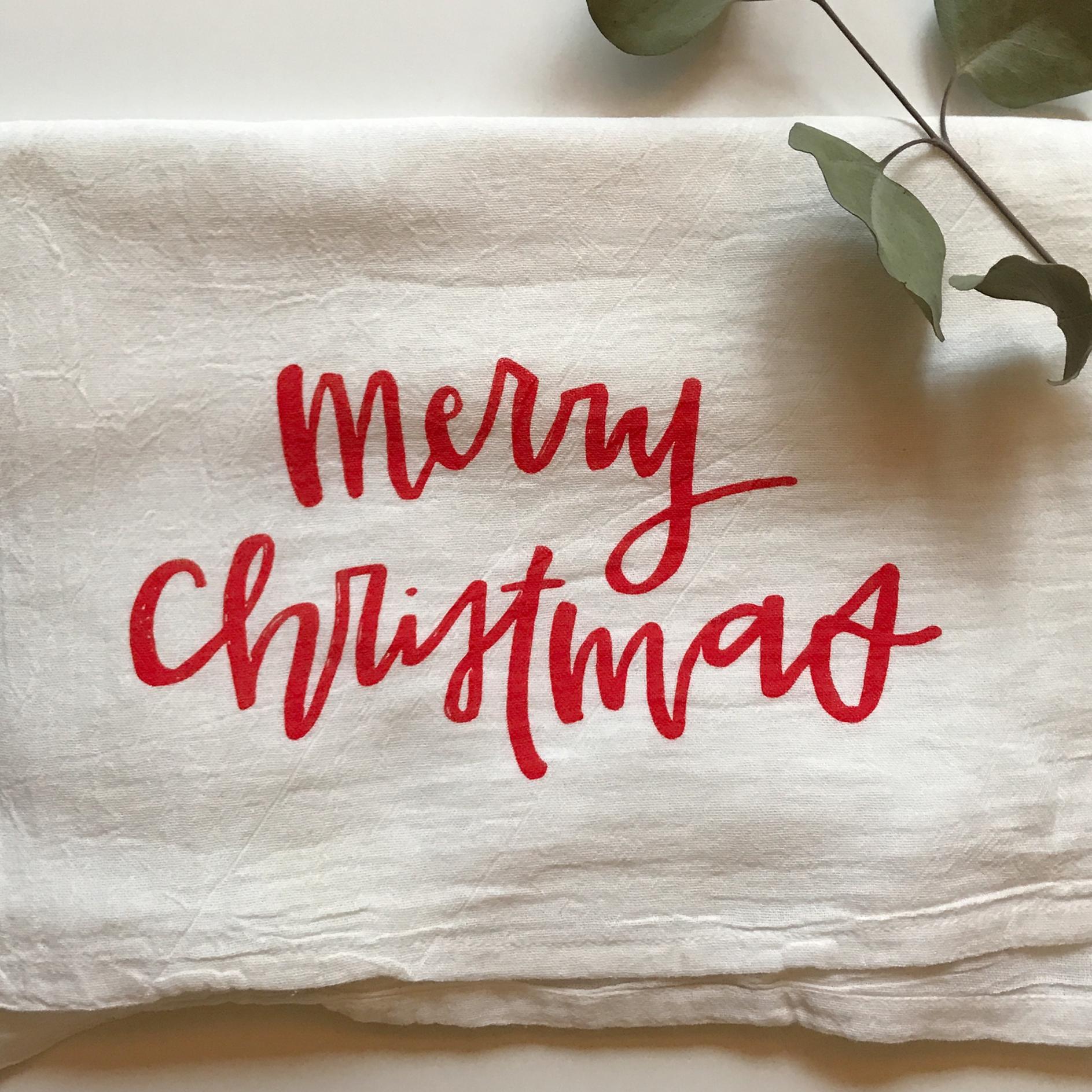 Christmas Tea Towels  2017