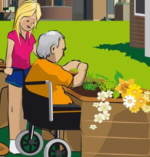 wheelchair-accessible-urban-community-garden-project-for-horticultural-therapy-sensory-garden
