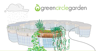 Green-Circle-Garden-WHEELCHAIR ACCESSIBLE raised garden beds-special-needs-schools