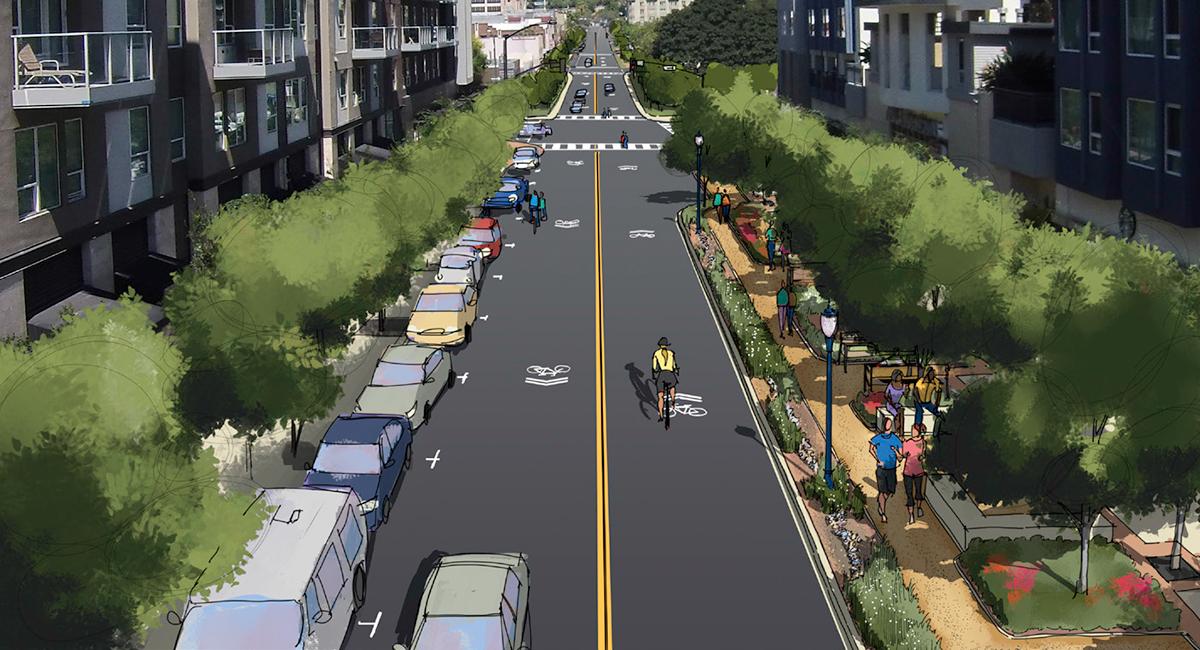 San Diego's vision for the 14th St Promenade