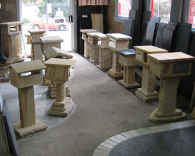 190 Selection of Sandstone Letterboxes.jpg