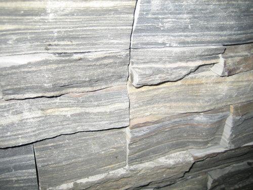 20. Slate Greyside stacker stone detail, tile sizes 150x600