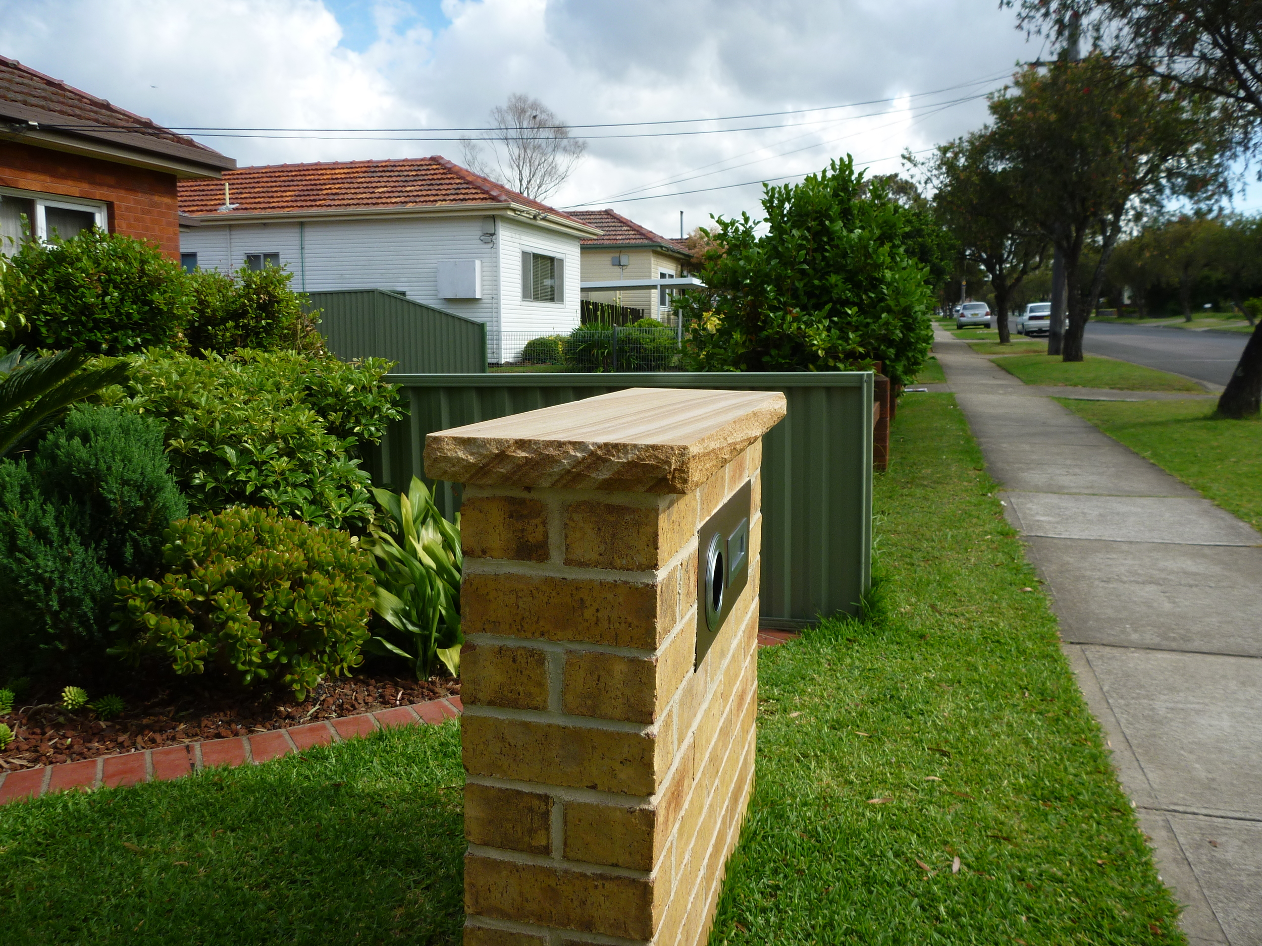 16. Australian capping 50mm thick for walls and piers (2)
