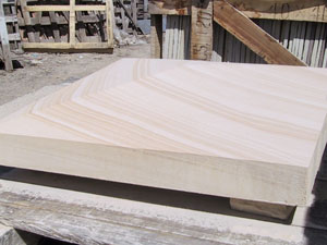 20. Australian Sandstone Pyramid