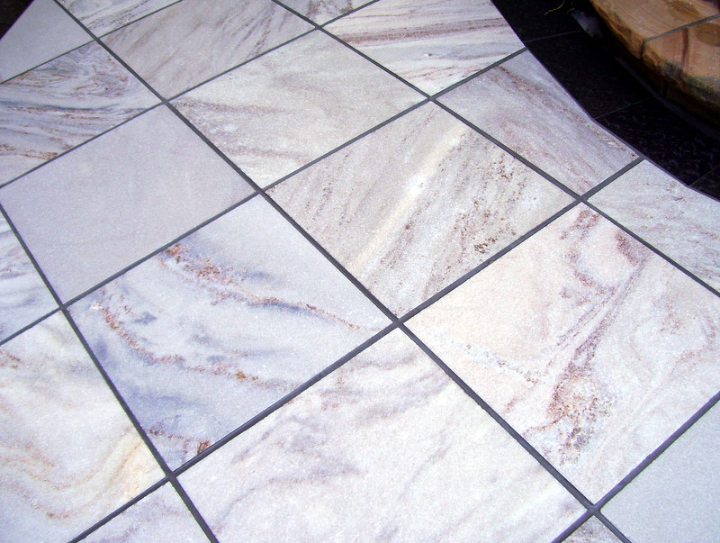 15. This crystallised quartzite floors can be sealed with darker shade sealer to achieve darker marble like finish