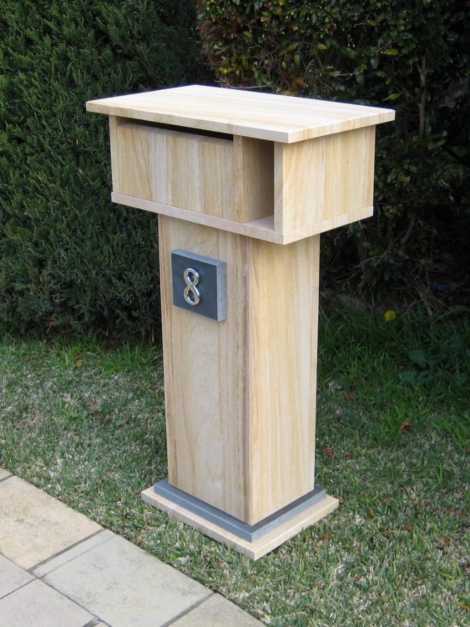 33. Sandstone Size 850x500x300 aluminium back door with 2 key lock $600