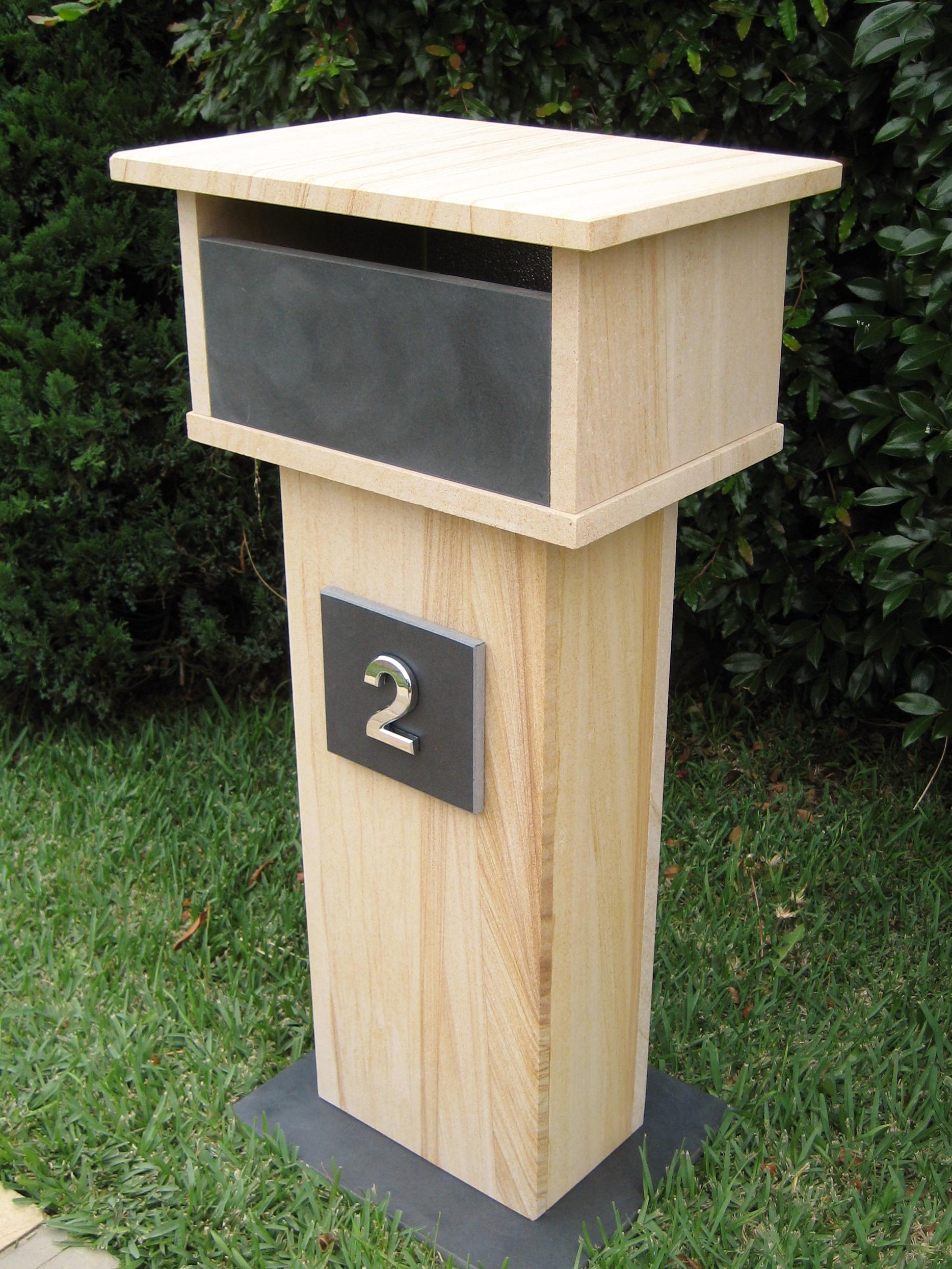 49. Sandstone, bluestone aluminium back door with 2 key lock 820x400x290 $580