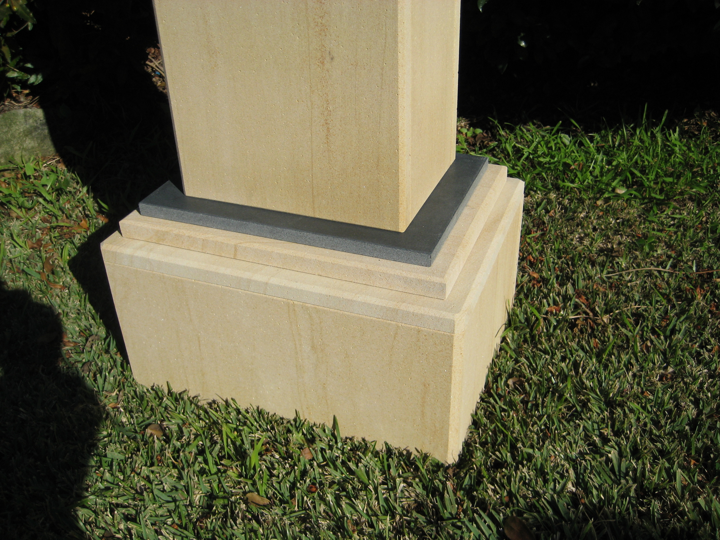51. 200mm high base under letterbox to gain extra hight $180