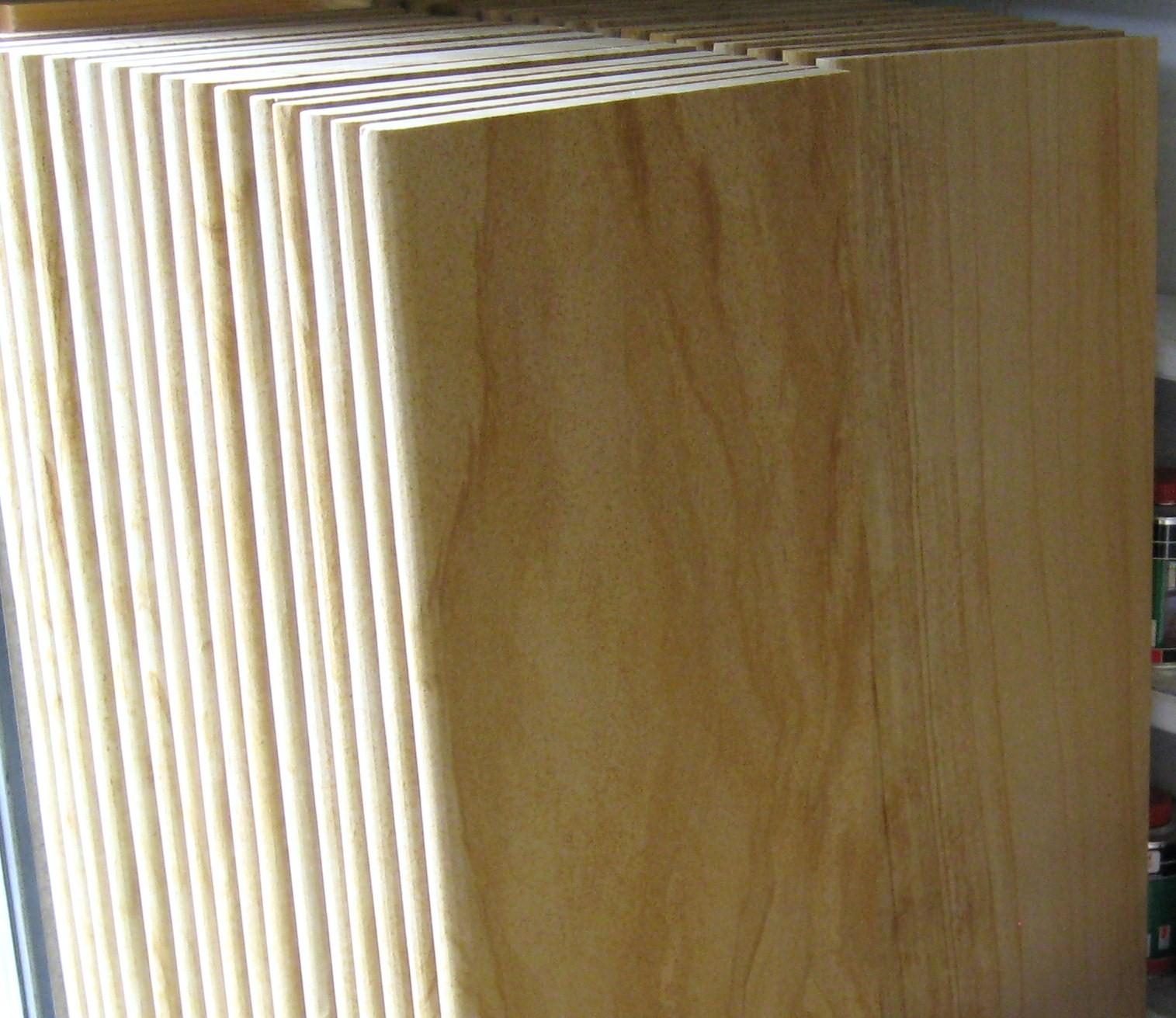 20. Woodgrain sandstone steps bullnosed