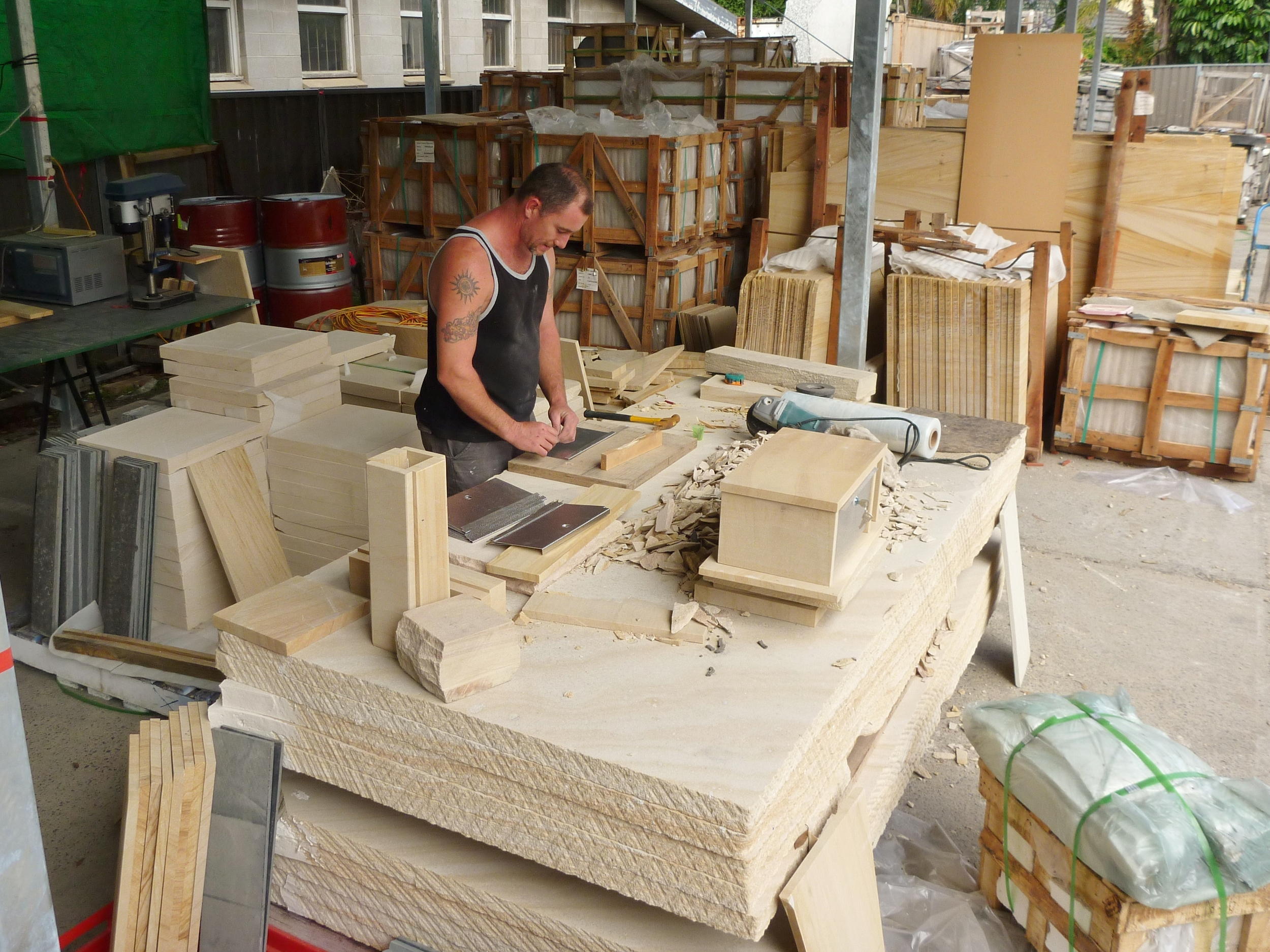 013 letterbox production in our stonemasonary.JPG