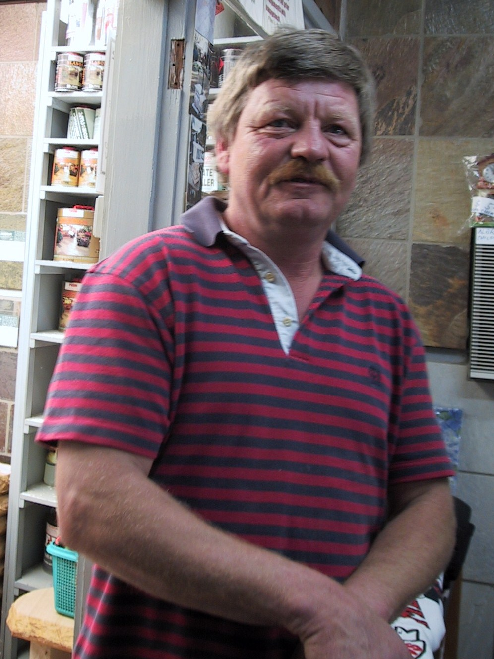 022 Our subcontracting  stone tiler Joseph is working for us 29 years now..JPG
