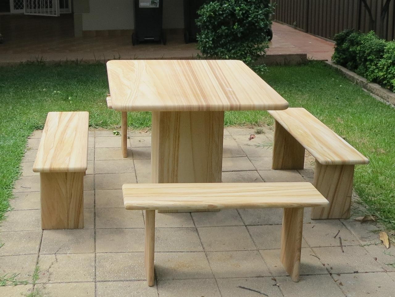 210 Woodgrain sandstone garden furniture custom made.jpg
