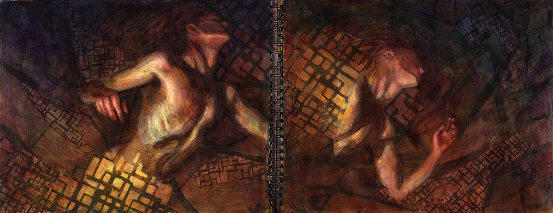 Simulacrum III (framed journal)
