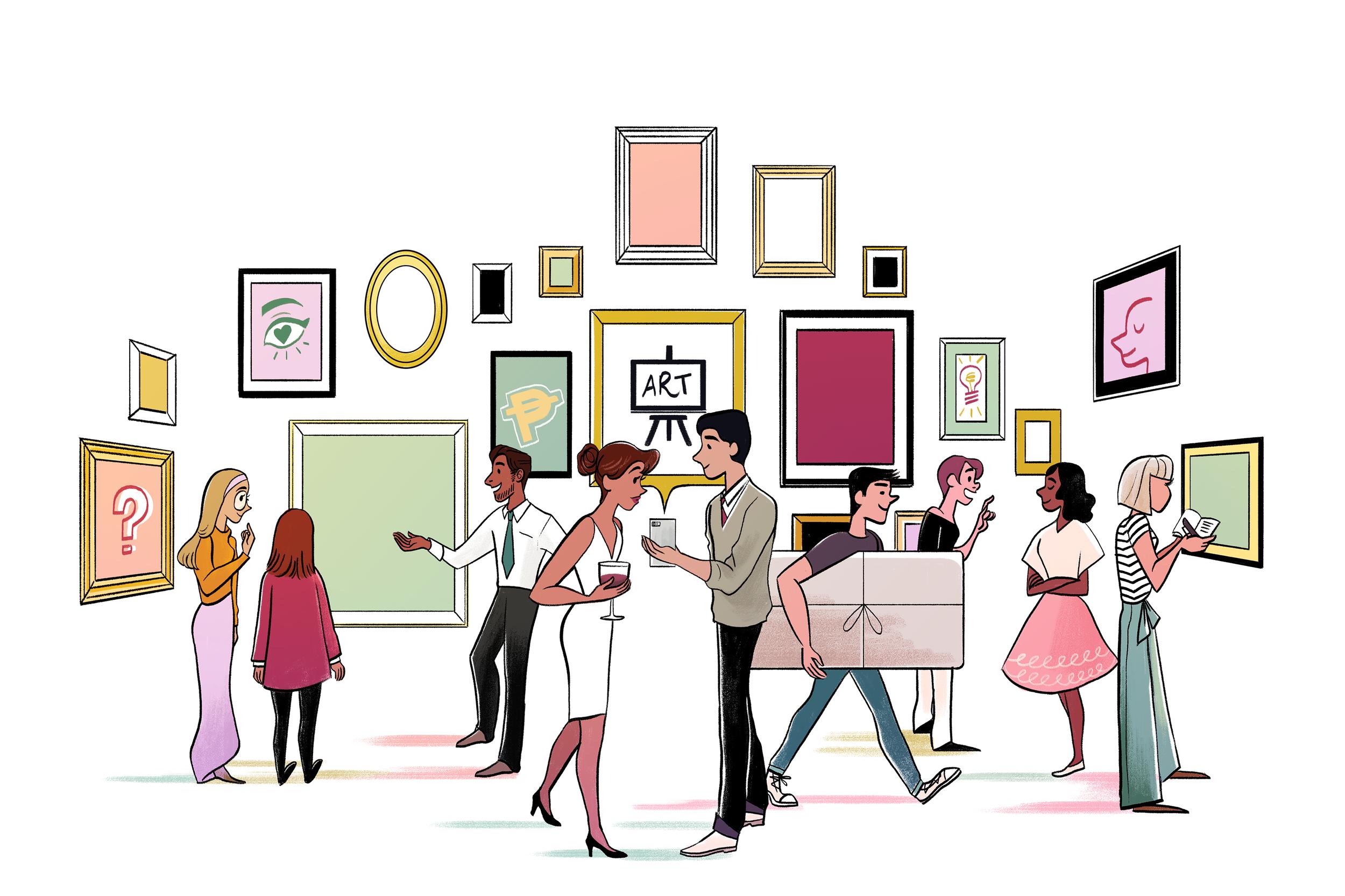 ART & CULTURE     HOW TO NAVIGATE THE ART MARKET , 2015