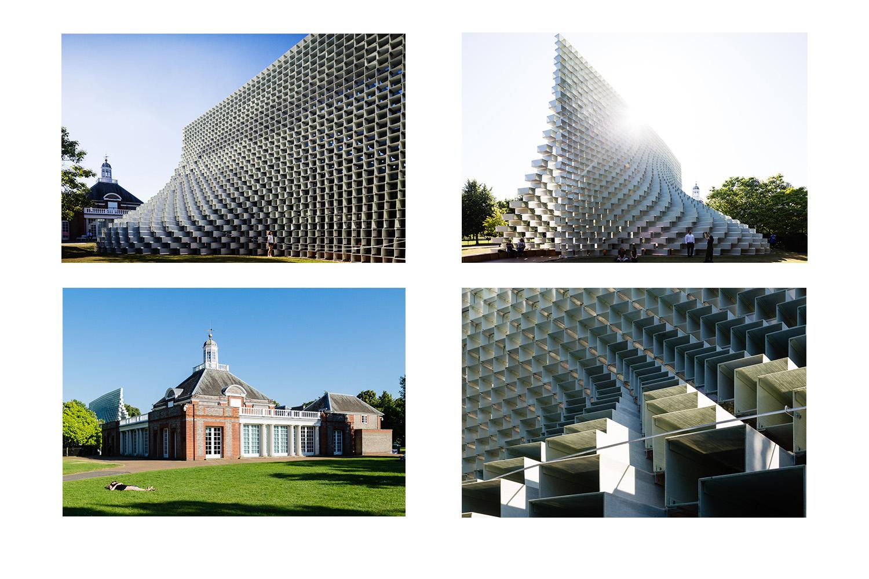 Serpentine Pavilion by BIG. London, England