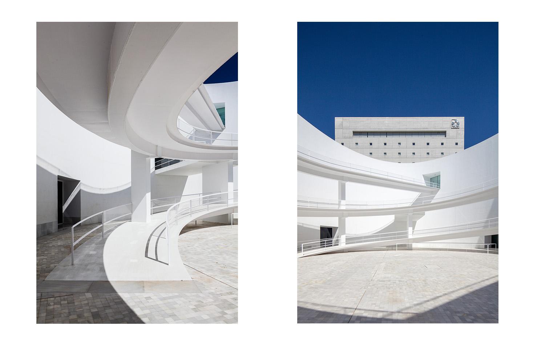 Andalusia Memorial by Campos Baeza. Granada, Spain