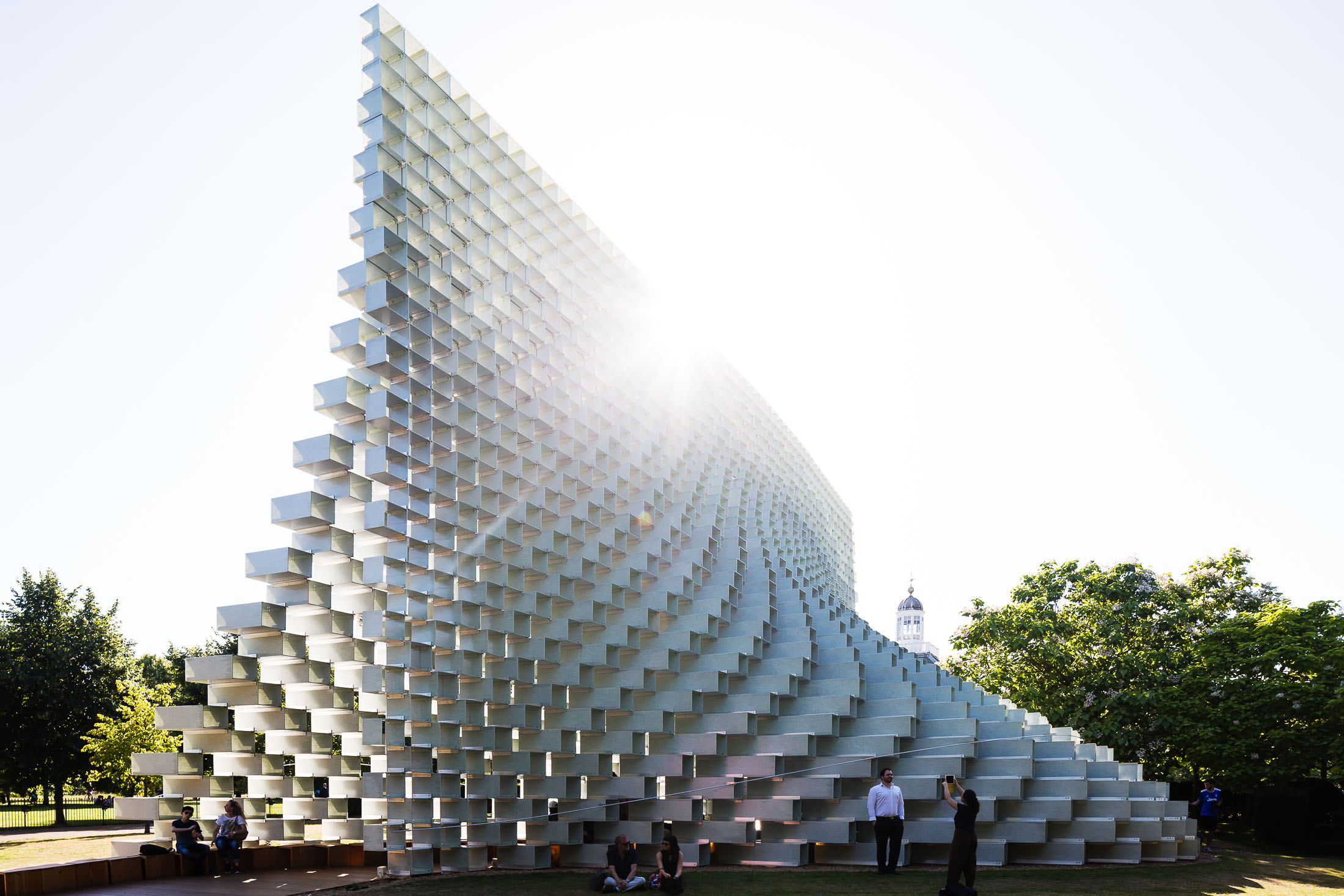 Serpentine Pavilion 2016 designed by Bjarke Ingels Group (BIG)