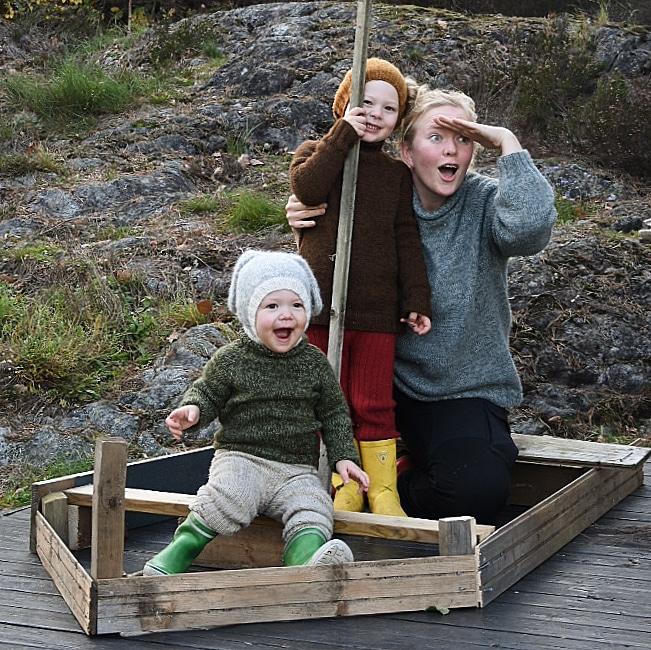 Felixgenser til begge barna & Felix mamma til moi