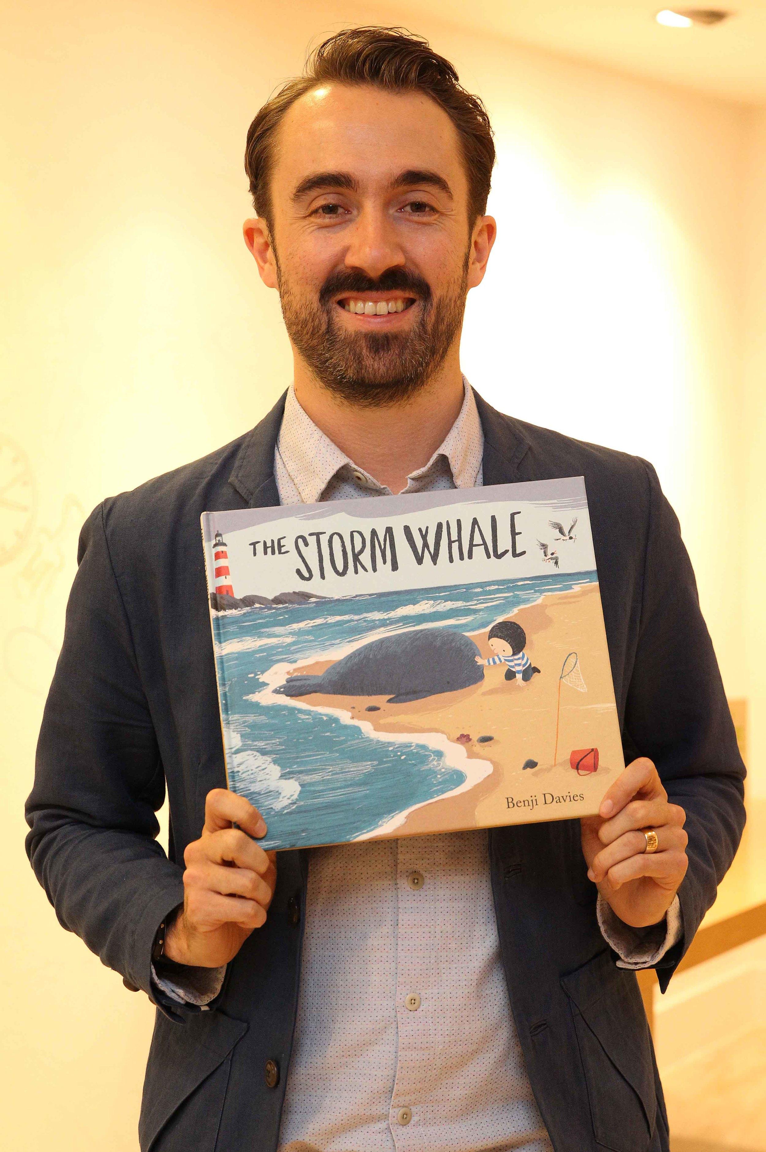 2014 Oscar's Book Prize winner Benji Davies