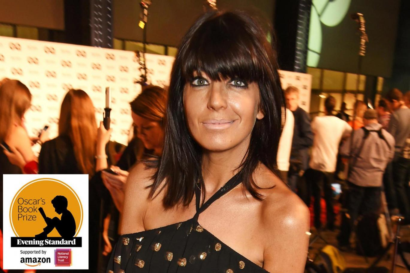 Claudia Winkleman, one of the judges for the 2017 Oscar's Book Prize. Photograph by Dave Benett
