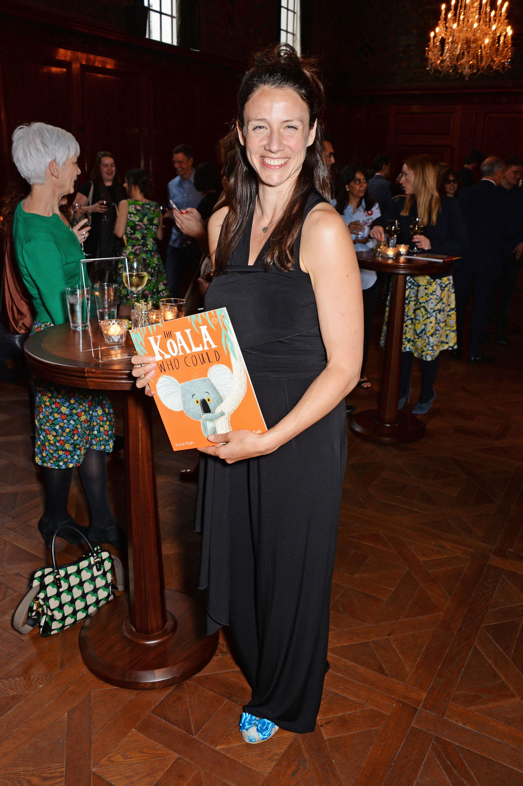 2017 Oscar's Book Prize joint winner: Rachel Bright, author of The Koala Who Could. (Photo: Dave Benett)