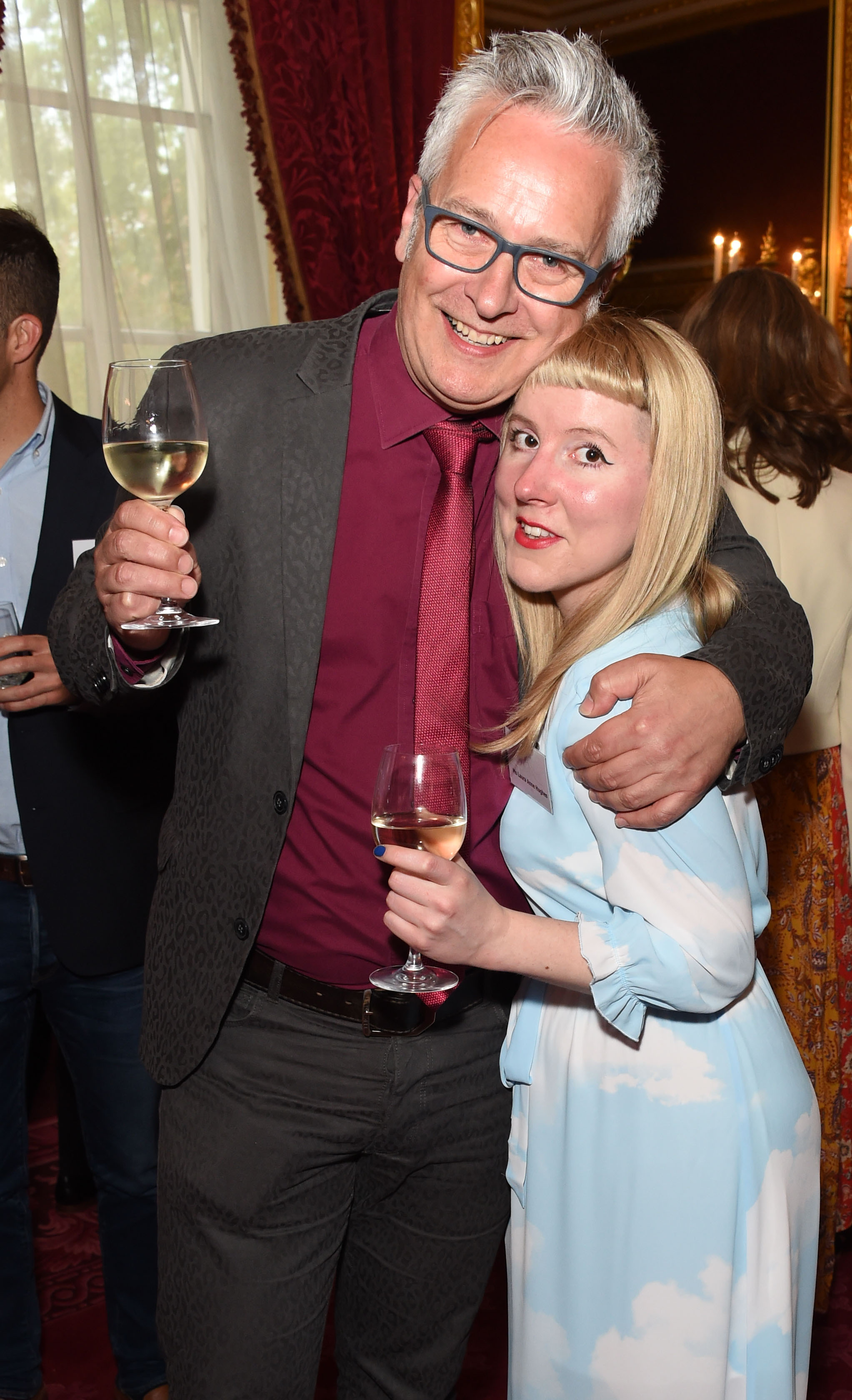 Winners of Oscar's Book Prize 2018: Writer John Dougherty and illustrater Laura Hughes. Image: Dave Benett