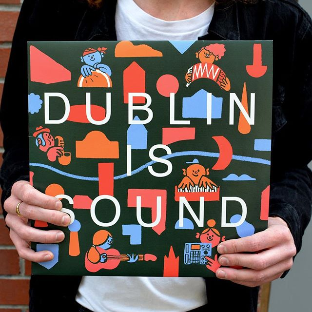 Record cover for DUBLIN IS SOUND, part of the @musictowndublin festival. Big thanks to @nialler9 @dblen and @dublincitycouncil 🙏🏻