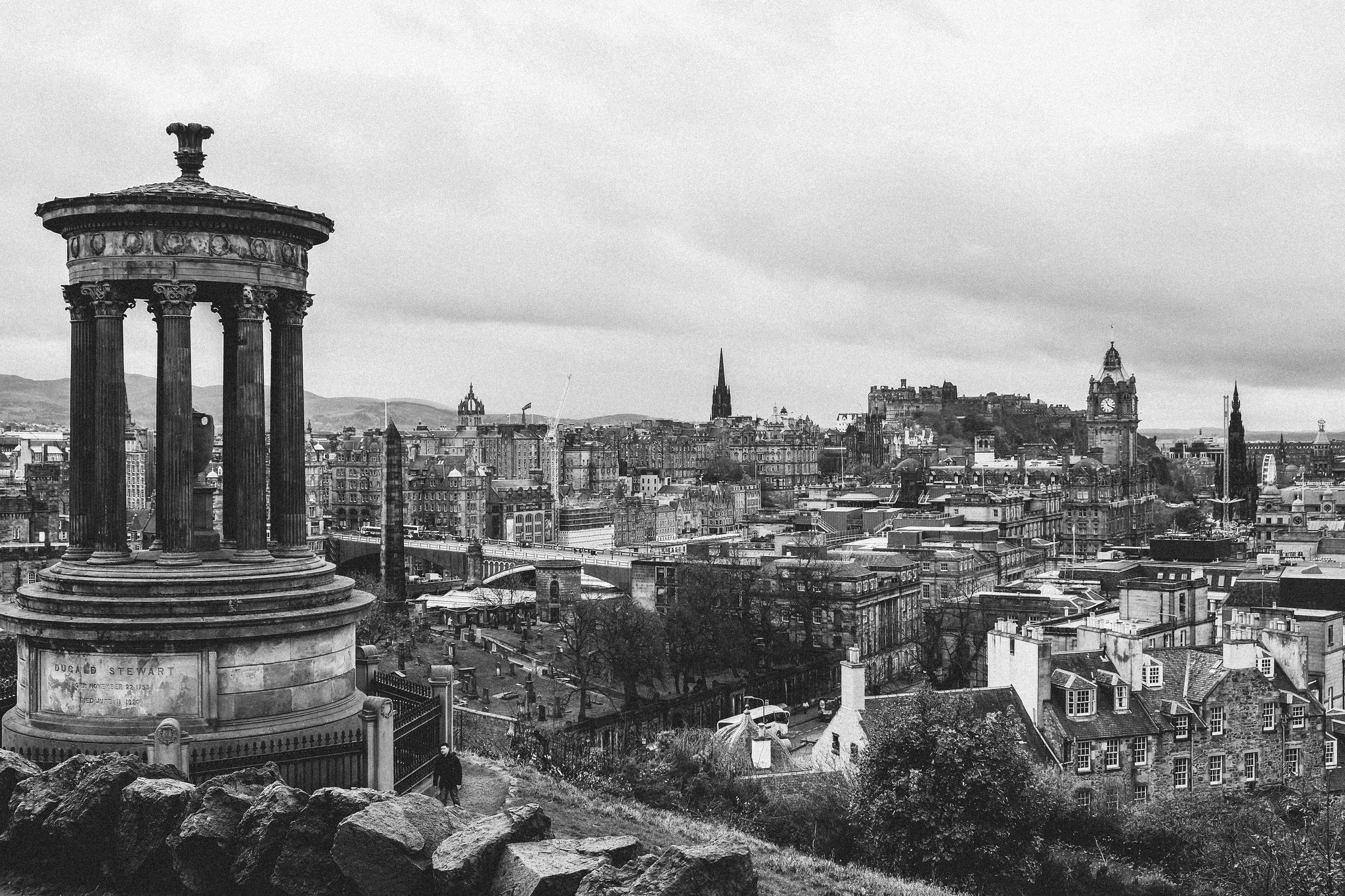 Edinburgh B&W