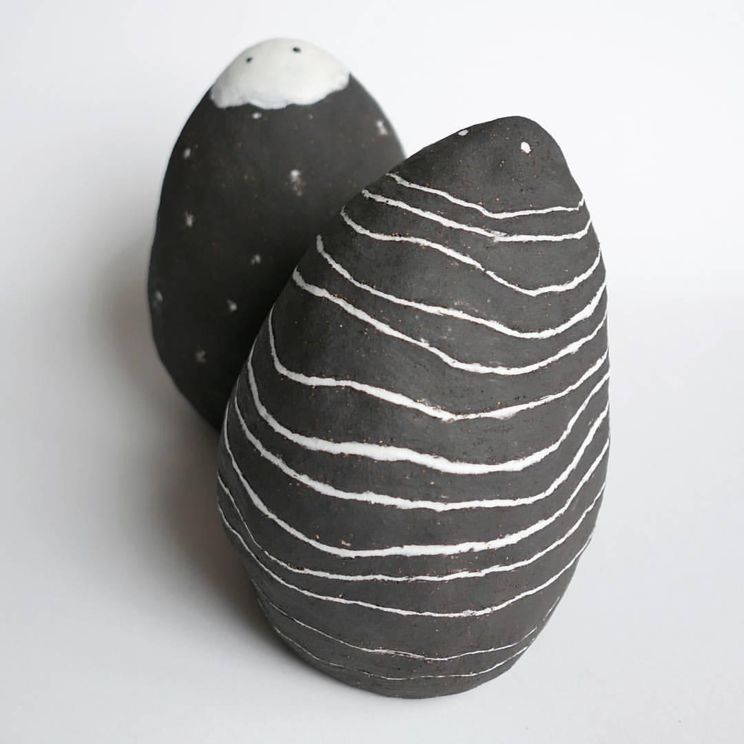 human love sculptures black clay morningside gallery