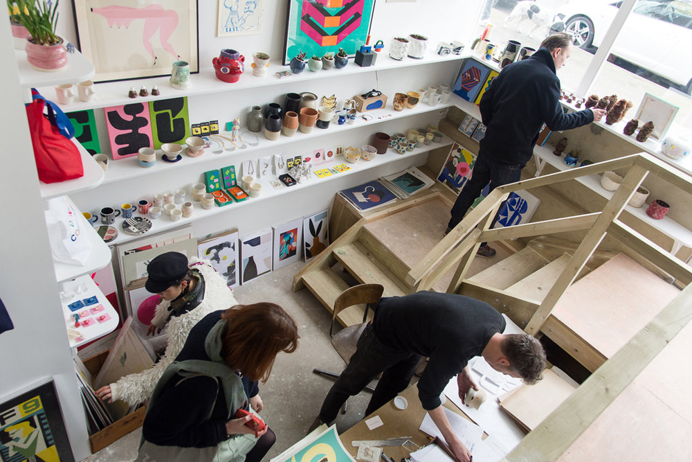 DIY Art Shop London Shacklewell Lane ceramics