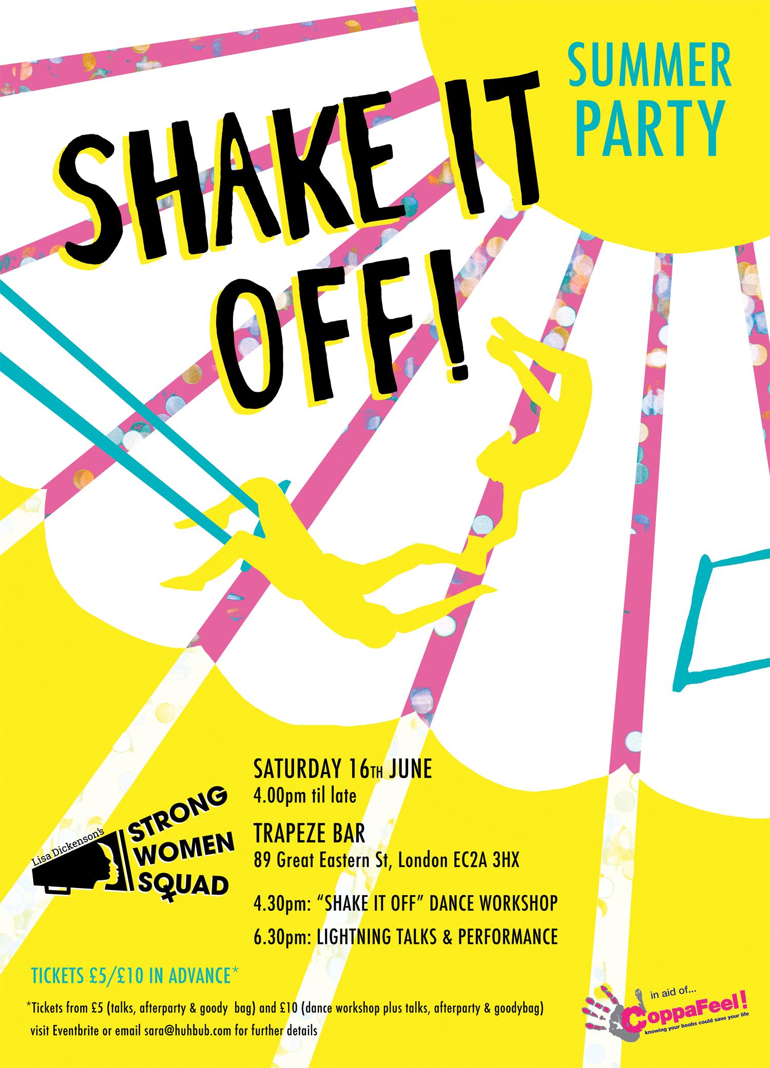Shake it off / Strong Women Squad & Huhbub