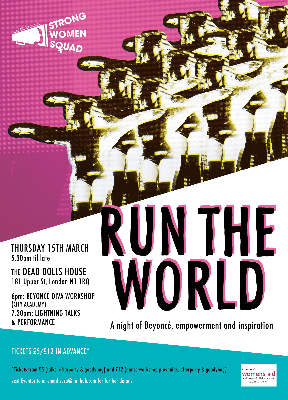 RUN THE WORLD / Strong Women Squad & Huhbub