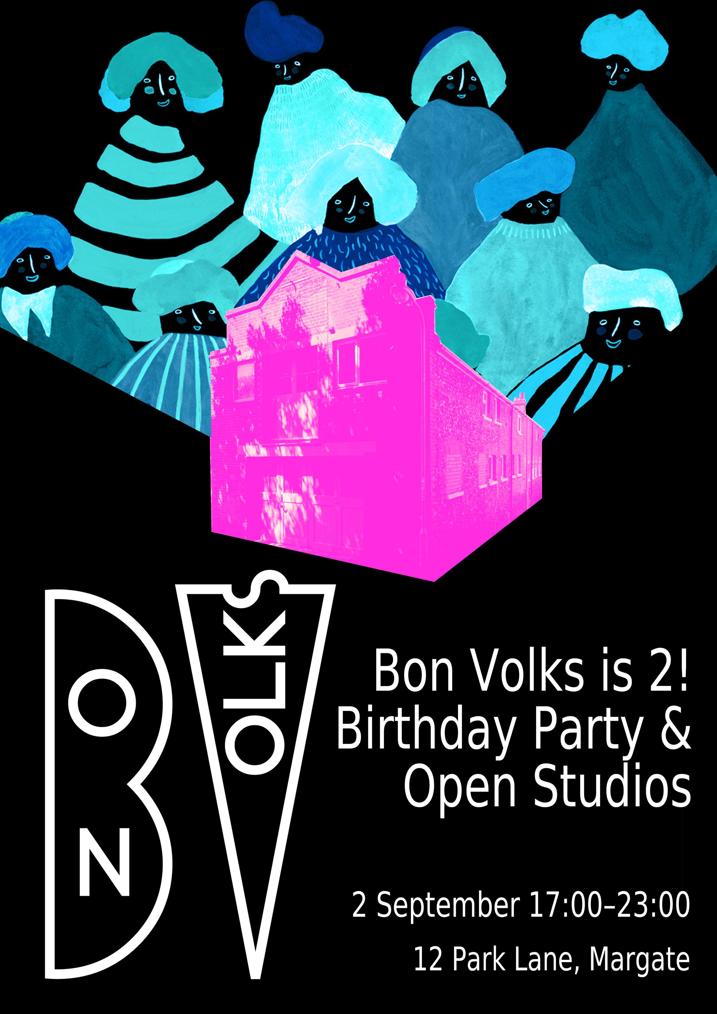 Bon Volks Studio Birthday Party