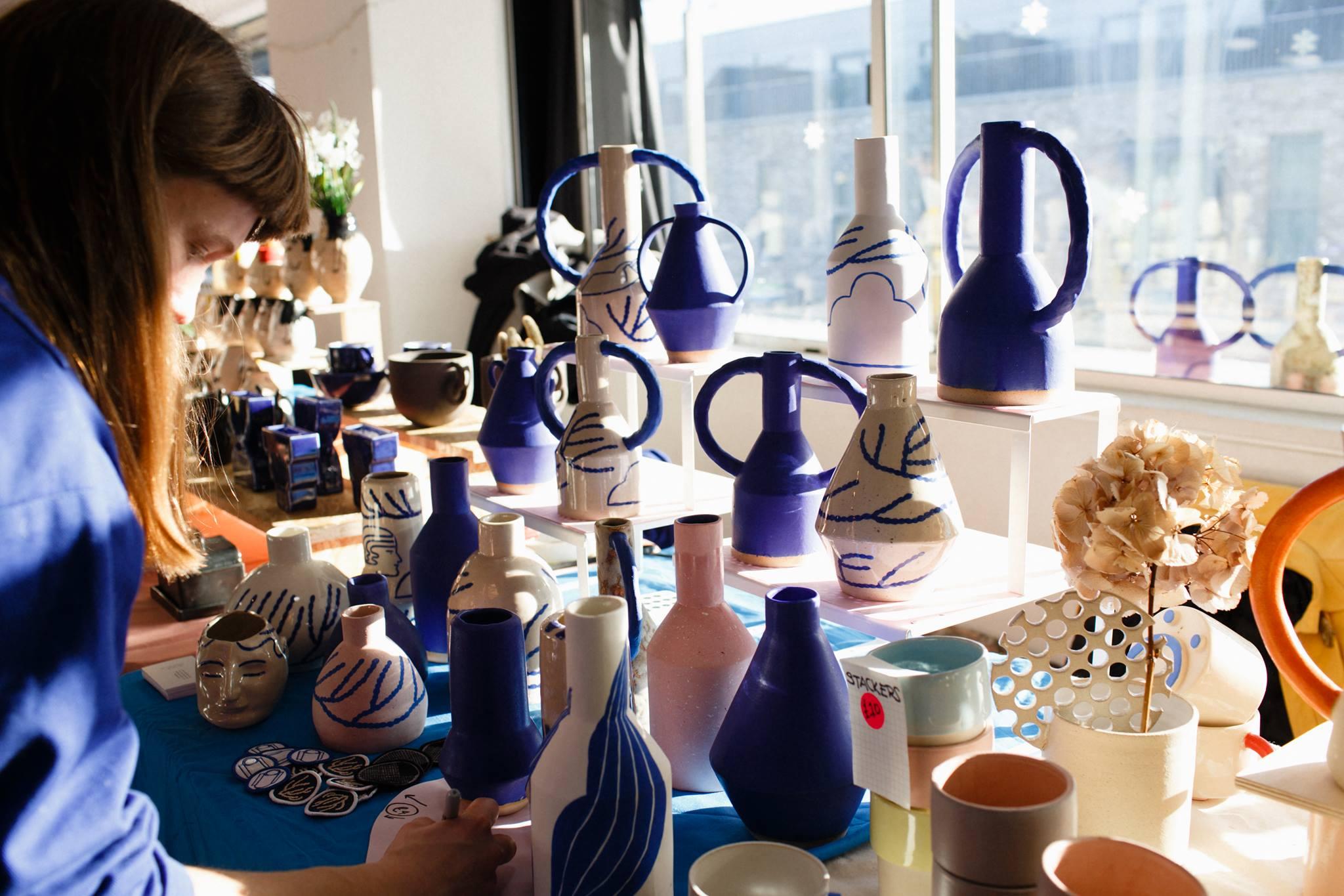 Independent Ceramics Market Christmas 2018