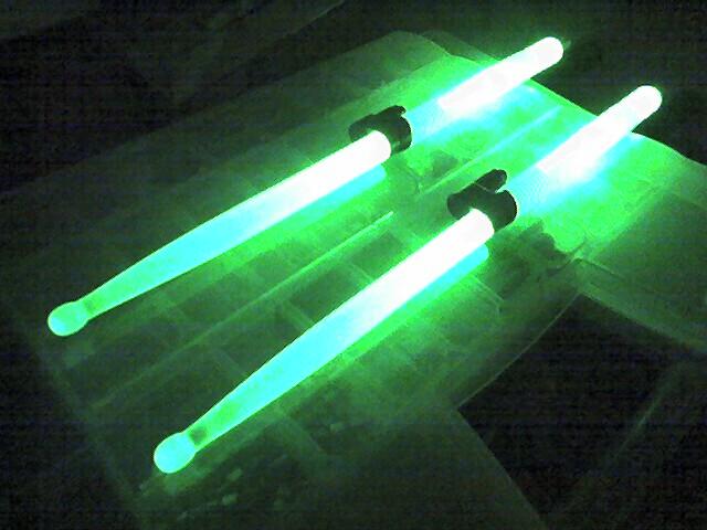 Laser Drumsticks