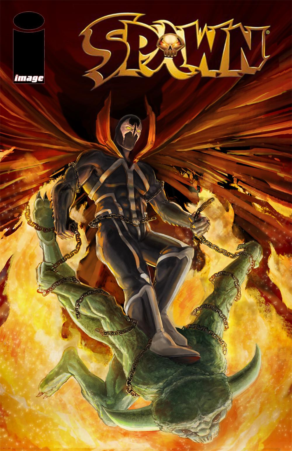 Spawn Fan Art Cover