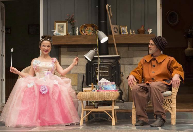 Nina in VANYA AND SONIA AND MASHA AND SPIKE, Forward Theatre Company