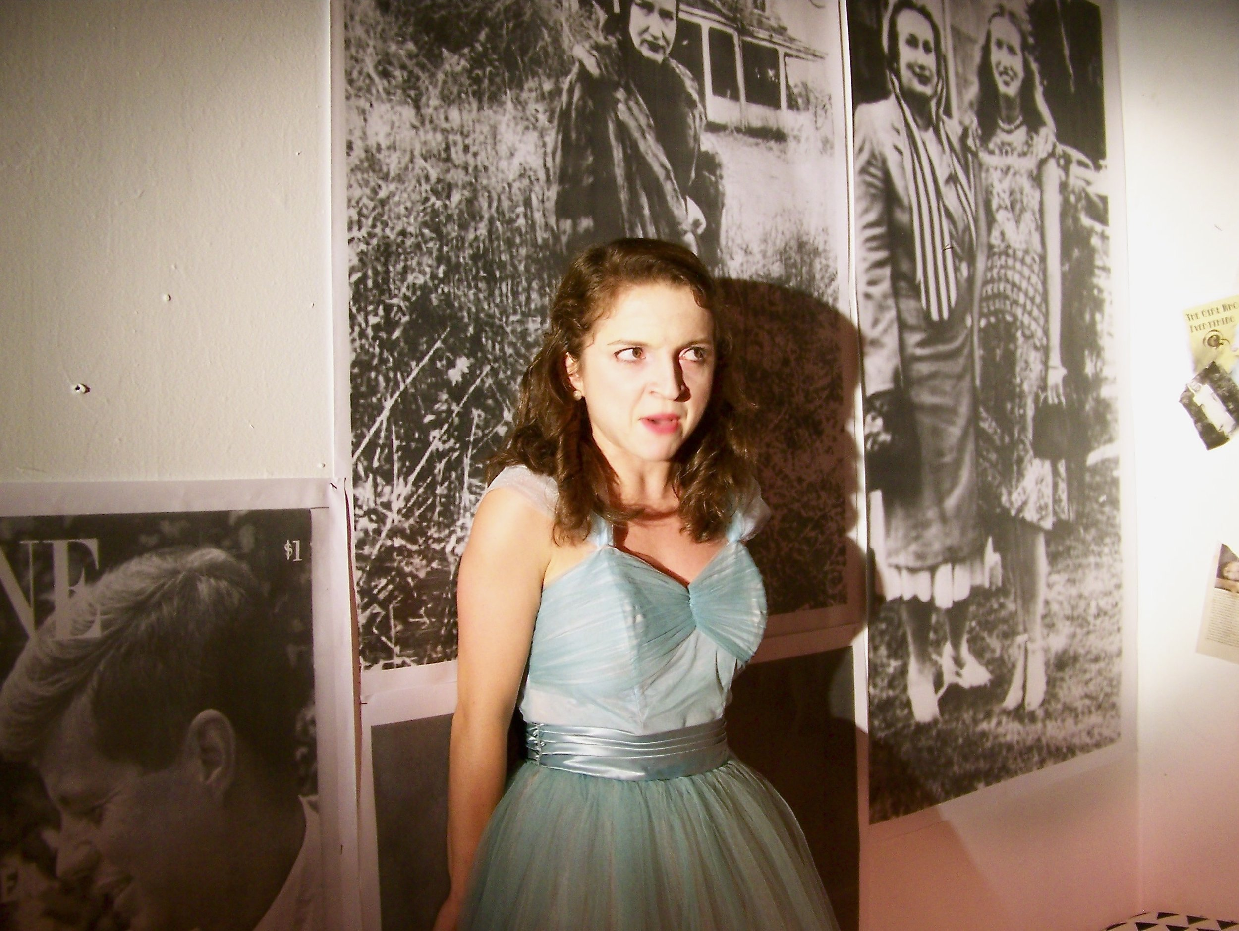 Little Edie in GREY GARDENS, Off The Wall Theatre