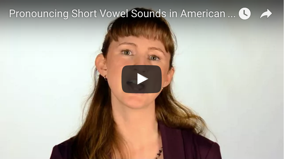 """Watch our """"Introduction to Short Vowels"""" video."""